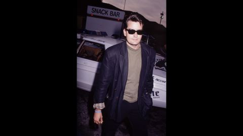 """By the mid-'90s, Sheen was as famous for being a ladies' man as he was for being a leading man. Known as """"the Machine,"""" he dated porn stars, and though Hollywood madam Heidi Fleiss kept the names of her clients secret, Sheen testified during her tax-evasion trial that he'd used her services. He <a href=""""http://www.people.com/people/archive/article/0,,20132664,00.html"""" target=""""_blank"""" target=""""_blank"""">also spent time in rehab and was hospitalized for a drug overdose</a>. """"Pray for my boy,"""" said his father. """"He has appetites that get him into trouble."""""""