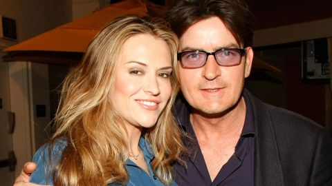 """Sheen's third marriage, to actress Brooke Mueller, was also contentious. The two married in 2008 and divorced three years later, time that included Sheen's arrest on suspicion of domestic abuse and rehab stints for both. A custody battle ensued after the divorce, but the two <a href=""""http://www.people.com/article/broke-mueller-charlie-sheen-relationship"""" target=""""_blank"""" target=""""_blank"""">are getting along for now.</a>"""
