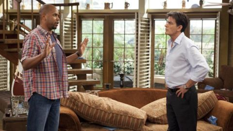 """Still, Sheen had enough buzz that he was announced as the lead in """"Anger Management,"""" a TV version of the 2003 movie. The series lasted two years on FX. Meanwhile, """"Two and a Half Men"""" ended its run in 2015 with Sheen's character -- who had been assumed dead -- <a href=""""http://www.cnn.com/2015/02/20/entertainment/feat-two-and-a-half-men-finale-charlie-sheen/"""">crushed by a piano</a>."""