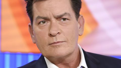"""Actor Charlie Sheen appears during an interview, Tuesday, Nov. 17, 2015 on NBC's """"Today"""" in New York. In the interview, the 50-year-old Sheen said he tested positive four years ago for the virus that causes AIDS. (Peter Kramer/NBC via AP)"""