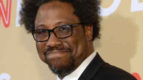 """Stand-up comic W. Kamau Bell performed at the event. He is the host of the upcoming CNN series """"United Shades of America."""""""