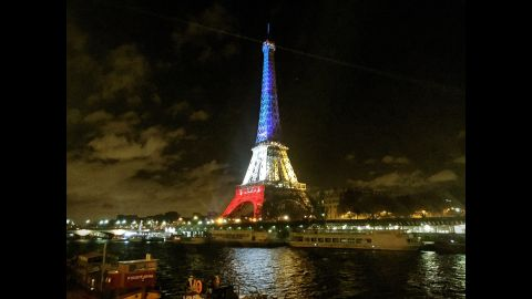 """PARIS: """"There must be thousands of similar pictures on Instagram, but this majestic landmark deserves the attention."""" - CNN's Christian Streib @christianstreibcnn."""