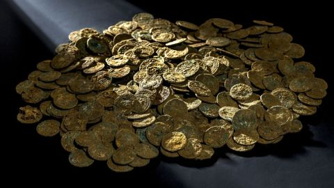 """In January 2016, over 4,000 Roman coins were <a href=""""http://edition.cnn.com/2015/11/20/luxury/roman-coins-switzerland-farmer/"""">discovered</a> by a fruit and vegetable farmer on a molehill in his cherry orchard in Switzerland."""