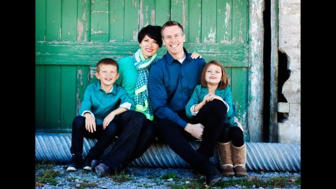 """Scott and Gabby Dannemiller and their children went a """"Year Without a Purchase"""" (also the title of his book) and refocused on their family mission statement and the spiritual life they wanted to lead together."""