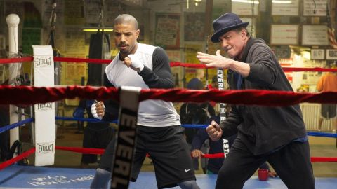 """""""Creed"""" stars Michael B. Jordan and Sylvester Stallone in a continuation of the """"Rocky"""" series."""