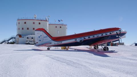 Flights bring crews and supplies to the station except for four months of the year -- during winter -- when crews are left to fend for themselves, with no daylight.