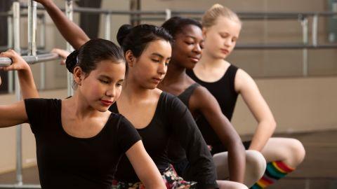 Diverse ballerinas