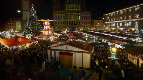 Augsburg is the largest city along Germany's Romantic Road. The city's Christmas market adds to its allure.