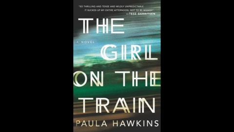 """The debut novel by Paula Hawkins, """"The Girl on the Train,"""" won in the mystery/thriller category."""
