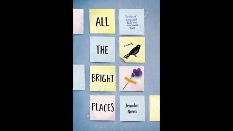 """The hot young adult award went to """"All the Bright Places"""" by Jennifer Niven, who already has a movie deal ready to go."""