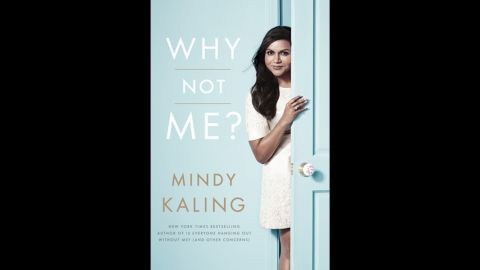 """Actor/producer/author Mindy Kaling wins over readers in the humor category with her book """"Why Not Me?"""""""