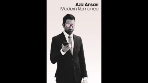 """Actor Aziz Ansari partnered with with New York University sociologist Eric Klinenberg for """"Modern Romance,"""" a tale and study of romance around the world, which won over readers in the nonfiction category."""