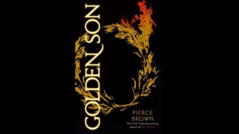 """Pierce Brown's """"Golden Son (Red Rising Trilogy No. 2)"""" won his second consecutive Goodreads Choice Award this year for science fiction. Last year, he was chosen as """"Best debut Goodreads author."""""""