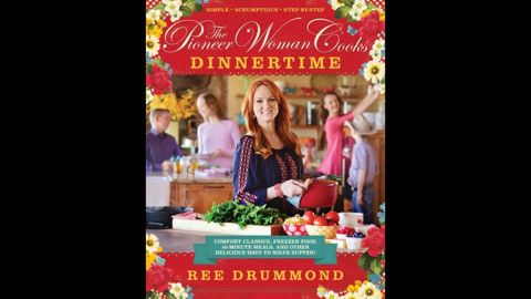 """Host of a Food Network show, Ree Drummond also wins over fans with """"The Pioneer Woman Cooks: Dinnertime,"""" which won in the food and cookbooks category."""