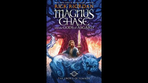 """Rick Riordan knows how to write for the middle grade and children's award. His latest win, """"The Sword of Summer (Magnus Chase and the Gods of Asgard #1),"""" means he's won this category for the fifth year in a row."""