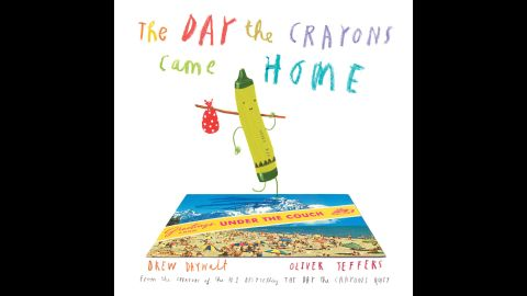 """The best picture book of 2015, say Goodreads voters, is """"The Day the Crayons Came Home"""" by Drew Daywalt and Oliver Jeffers (illustrations). It's worth the wait to find out what happened after """"The Day the Crayons Quit,"""" which won in 2013."""