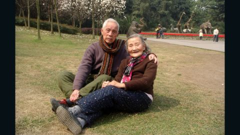 Wang, 98, and Cao, 97,  plan to relive their wedding again when they turn 100.