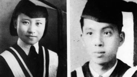 Wang, left, and Cao, right, both attended prestigious universities in China.