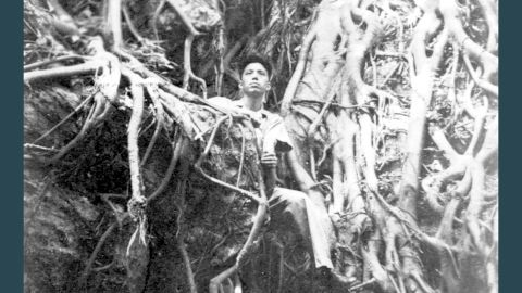 Cao seen in his military uniform during WWII.
