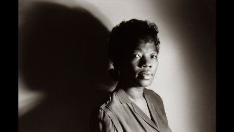 """""""Looking at me in this picture can't tell you I'm a very sick person. I can't believe it to myself."""" Juanita, Chapel Hill, North Carolina, 1988"""