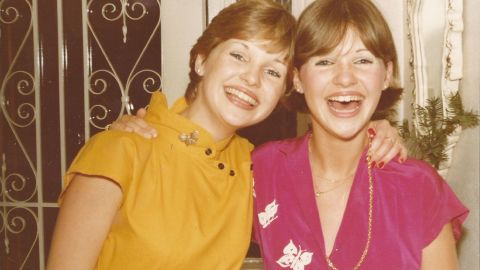 Fiona's twin, Sarah Jane (left), was only 8 when she was told that she would die prematurely from juvenile arthritis, but her symptoms didn't take a turn for the worse until she was 20. Growing up, Fiona shared a bedroom with Sarah Jane and was scared to sleep at night because her twin suffered from seizures. Instead, she would stay awake and keep watch.