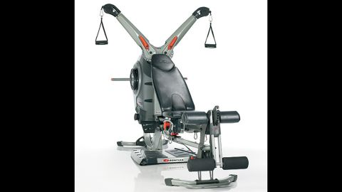 """It is easier to get pumped up for a workout when you have a shiny new home gym. <a href=""""http://www.bowflex.com/bowflex-home-gyms-us/bowflex.jsp"""" target=""""_blank"""" target=""""_blank"""">Bowflex</a> is a popular home gym. Prices start around $350 for the classic PR100 Home Gym, which gives users about 30 upper and lower body exercises. For Santas with deeper pockets, there is the Revolution Home Gym for $2,500, which offers 90 exercises and has newer resistance technology that makes for easier use."""