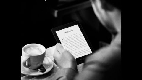 """An e-book reader may help motivate that special someone who vows to read more in the new year, especially if they also want to travel more (both are popular resolutions). An 8-ounce device can hold an impressive library of hundreds to thousands of books. There's <a href=""""http://www.amazon.com/b/?ie=UTF8&node=6669702011"""" target=""""_blank"""" target=""""_blank"""">Amazon's</a> high-end Kindle Voyage, pictured, for about $200 or the more affordable classic Kindle or <a href=""""http://www.barnesandnoble.com/b/nook-books/_/N-8qa"""" target=""""_blank"""" target=""""_blank"""">Barnes & Noble Nook</a> Glowlight, for $50 and $100 respectively."""