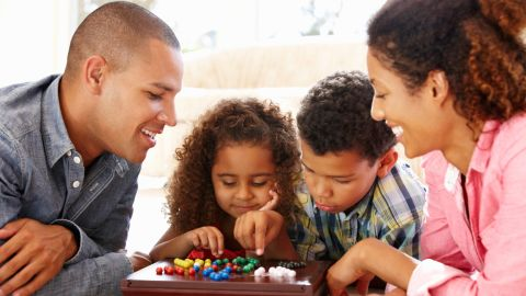 """If your family has resolved to spend more time together -- or you have resolved that for them! -- family game night can be just the ticket. Spice things up with twists on old favorites. <a href=""""http://www.otb-games.com/games/quick-games/run-wild/"""" target=""""_blank"""" target=""""_blank"""">Run Wild</a>, $10, is a riff on the card game Uno! <a href=""""http://telestrations.com/"""" target=""""_blank"""" target=""""_blank"""">Telestrations</a>, $20 to $40, is a creative take on Pictionary, and <a href=""""http://www.otb-games.com/games/party-games/word-on-the-street/"""" target=""""_blank"""" target=""""_blank"""">Word on the Street</a>, $30, is a team-based game similar to Scrabble."""