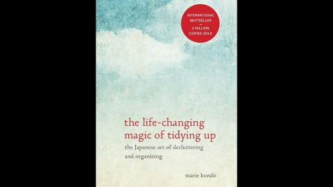 """If your giftee is really serious about their resolution to get organized, """"The Life-Changing Magic of Tidying Up,"""" the best-selling book by <a href=""""http://tidyingup.com/"""" target=""""_blank"""" target=""""_blank"""">decluttering wiz Marie Kondo</a>, will lead them through it. It prescribes strategies for clearing all the unnecessary items out of your home once and for all. At about $10 a book, that is gift money well spent!"""