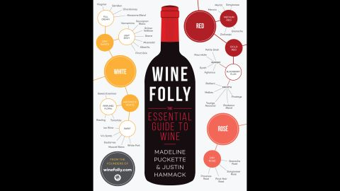 """Whether you know a lot about wine or don't know where to start, """"infographic style wine pairings make 'Wine Folly' an easy-to-use paperback guide for the most intimidated novice among us but also great fun for those who already have a more sophisticated understanding of the liquid grape in its many forms,"""" Wilson said."""