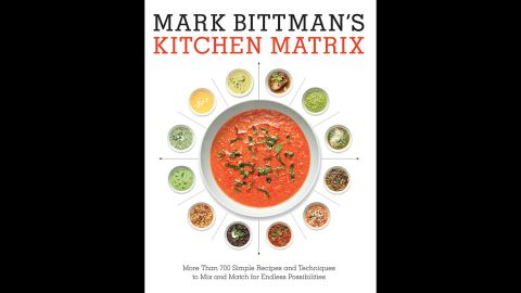 """""""Mark Bittman's new cookbook is a simple play on the idea of taking one ingredient or dish -- say, chicken wings -- and showing how to do it multiple ways,"""" Wilson said. It's a good first cookbook or inspiration for experienced cooks looking for new ideas."""