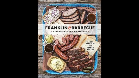 """""""Franklin Barbecue"""" is for the pitmaster (or would be-pitmaster) obsessed with barbecue. Aaron Franklin, who runs the famous Austin, Texas, institution of the same name, """"has written the book on how to literally smoke and cook a variety of meats in your own backyard,"""" Wilson said."""