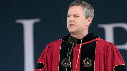 The Rev. Jerry Falwell Jr., president of Liberty University