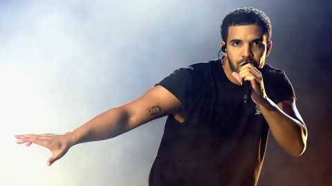 Rapper Drake was an actor before entering the music industry.