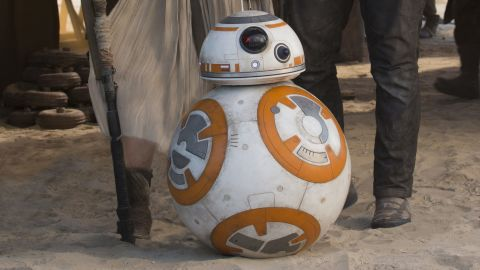 """BB-8 in """"The Force Awakens."""""""