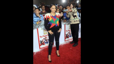 """Actress Tia Mowry <a href=""""http://www.cnn.com/2015/12/08/entertainment/tia-mowry-body-shaming-feat/index.html"""">said in December that she has been the subject of negative comments</a> on Instagram since gaining weight. Questions about whether she is pregnant amount to body-shaming, she said."""
