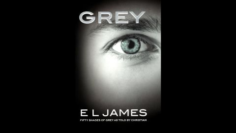 """Fans of """"Fifty Shades of Grey"""" propelled E.L. James' """"Grey"""" to second place with a tale about life as seen through Christian Grey's eyes."""