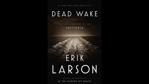 """Erik Larson's """"Dead Wake: The Crossing of the Lusitania,"""" tells the true story of the sinking of this ocean liner during wartime, published around the centennial anniversary of its demise."""