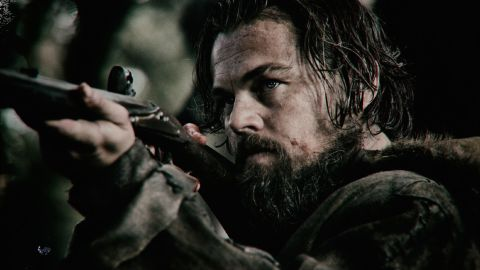 """Leonardo DiCaprio's role in """"The Revenant"""" earned him a nomination for best performance by an actor in a motion picture - drama. His competition is Bryan Cranston (""""Trumbo""""), Eddie Redmayne (""""The Danish Girl""""), Michael Fassbender (""""Steve Jobs"""") and Will Smith (""""Concussion"""")."""