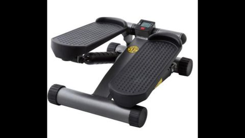 """The <a href=""""http://www.amazon.com/Golds-Gym-40-0041GG-Mini-Stepper/dp/B00IGIRTZ2"""" target=""""_blank"""" target=""""_blank"""">Gold's Gym mini stepper</a> gives you the feel of having a moderate workout, according to one user. The stair stepper is not all that different from marching in place."""