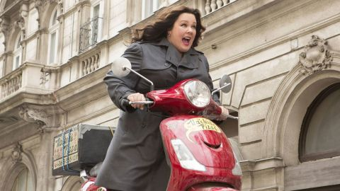 """""""Spy"""" earned Melissa McCarthy a nomination for best performance by an actress in a musical or comedy. Also nominated are Jennifer Lawrence (""""Joy""""), Amy Schumer (""""Trainwreck""""), Maggie Smith (""""The Lady in the Van"""") and Lily Tomlin (""""Grandma"""")."""