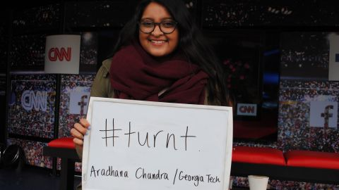 """How does Aradhana from Georgia Tech describe this election cycle? """"Turnt."""""""