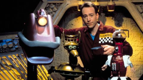 """""""Mystery Science Theater 3000"""" ran for 11 seasons on """"Comedy Central"""" and """"The Sci-Fi Channel."""""""