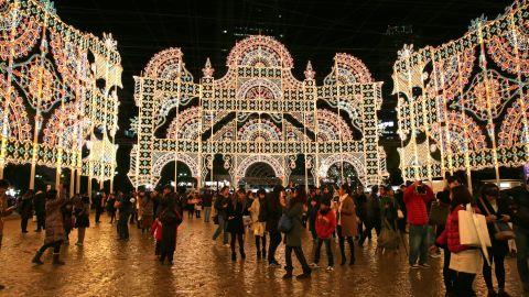 Kobe Luminarie is an annual lighting festival held in Kobe, Japan.