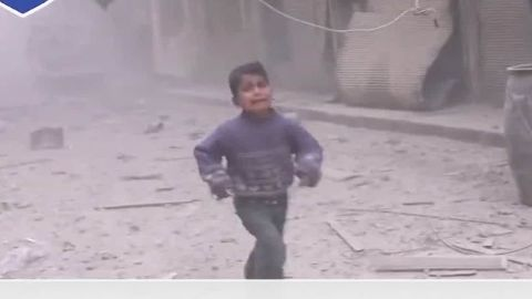 More than 40 people were reported killed in Douma, a suburb of Damascus where regime-led carnage has become almost routine, this ghastly incident distinguished by the power of the footage showing multiple bombs hitting the skyline, a child seeking his mother in the wreckage, a man praying simply grateful to be alive, and the detritus of a school hit in the blast.