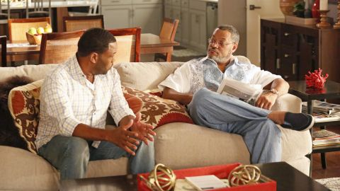 """Laurence Fishburne, right, had a bit role as Swain. His career flourished after that, with roles in """"Pee-wee's Playhouse"""" on television and films like """"The Matrix"""" and 'What's Love Got to Do With It."""" Fans now enjoy him the father of Anthony Anderson's character on ABC's hit comedy """"Black-ish."""""""