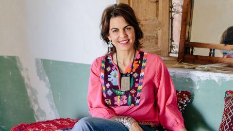 Interior designer Maryam Montagu