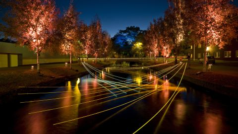 Currently in its 15th year running, the Lights in Alingsas is located in the town of Alingsas in Sweden.