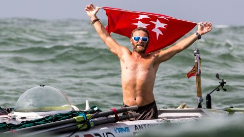 """In last year's race, the winner of the solo row """"Rame Guyane"""" was Antonio de la Rosa from Spain. De la Rosa rowed the 2,600 miles between Senegal and French Guiana in 64 days and three hours."""