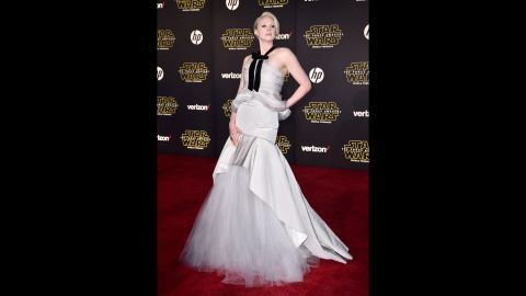 """Many fans will recognize Gwendoline Christie as Brienne from """"Game of Thrones,"""" but she also stars as Captain Phasma in """"Star Wars: The Force Awakens."""""""